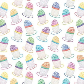 cupcakes full design colorful