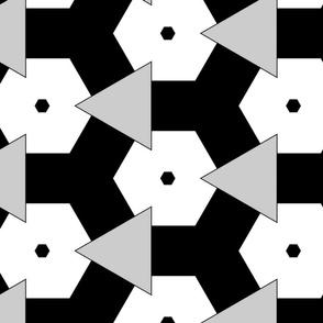 BLACK WHITE PATTERN SPOONFLOWER