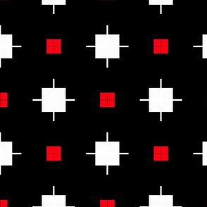 BLACK WHITE PATTERN SPOONFLOWER 3