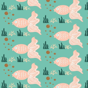 limited color palette Fish