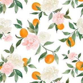 Kumquat bouquet white