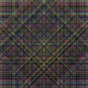 Rainbow Licorice Plaid