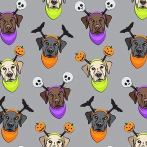 Halloween Labs - Labrador Retriever - Grey - LAD19