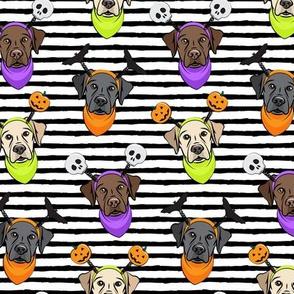 Halloween Labs - Labrador Retriever - Black Stripes - LAD19