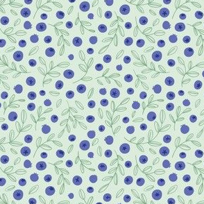 Blueberries (green)