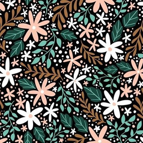 Woodland Ditsy Floral