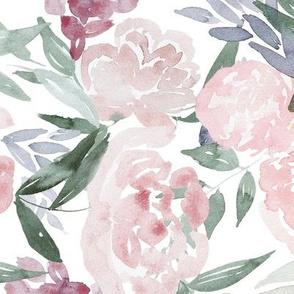 Mauve Flowers