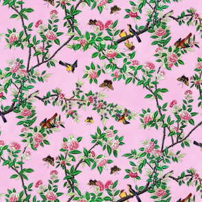 Chinoiserie Pink - small