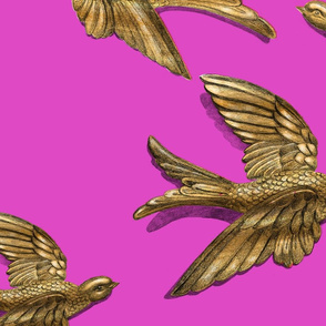 Brass Birds (pink) JUMB0