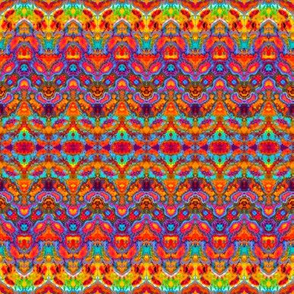Random Rainbow Splat Stripe
