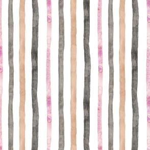 Soft Stripes Whites/Pinks/Greys