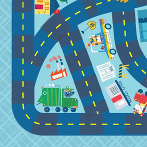 Trucks Playmat