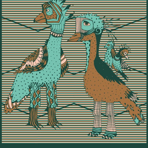 limited color palette ,two