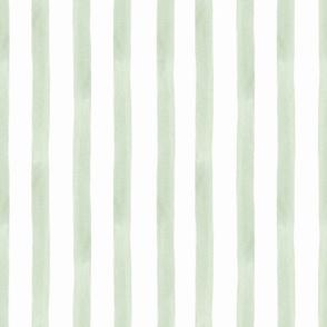 Green watercolor stripes