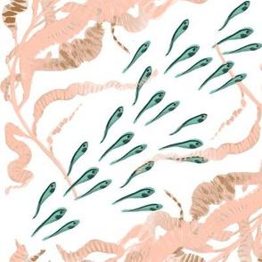 School of Fish in the Weeds