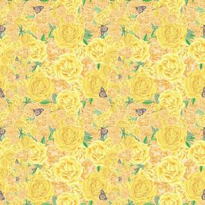 Summer Yellow Florals