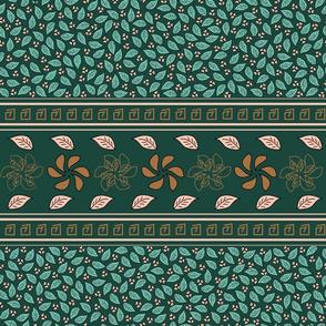 Classico foglie verdi