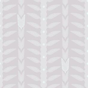 pale botanical ethnic stripes