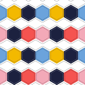 Colour Block Quilt