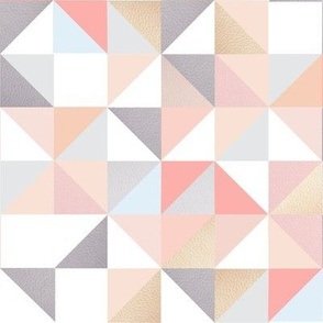 Triangles in pink