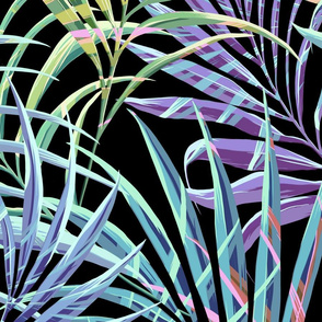 Palm Leaves Tropical
