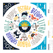 Wheel of the Year 2020 Calendar