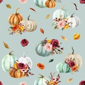 Pumpkin Cider Florals // Submarine