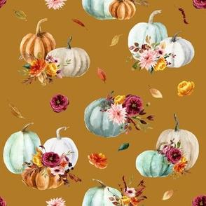 Pumpkin Cider Florals // Marigold