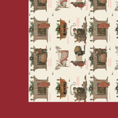 Night before Christmas Tea Towel  JWS