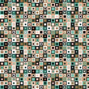 Retro grid for Limited Palette Design Challenge