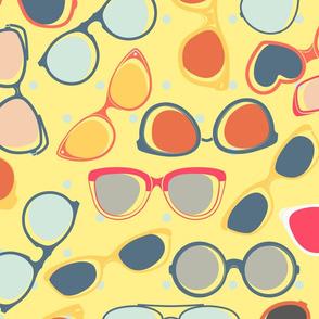Retro Sunglasses Gift Wrap