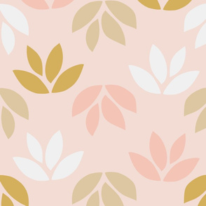 Leaf Retro Gift wrap