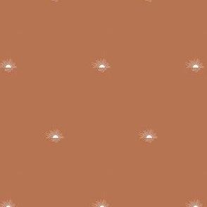 sunset - terracotta, mini scale