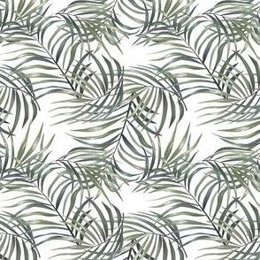 Vintage Green Palm