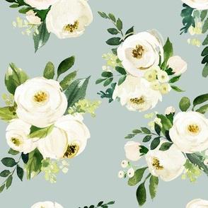Bohemian Garden Roses // Powder Ash