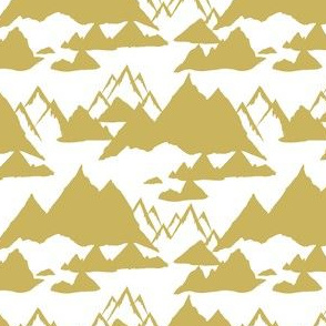 "4"" Gold Mountains"
