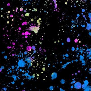 Stranger Things - Neon Splatter - Eleven