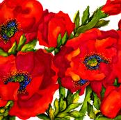 Bold Poppies Full Image