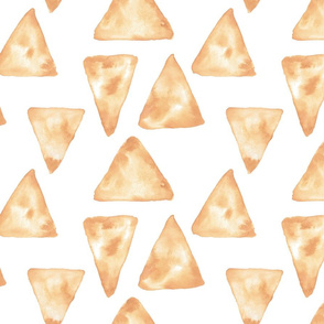 Watercolor Triangles Pattern