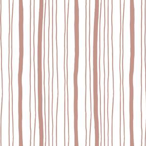 Hand drawn vertical stripes pattern