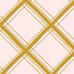 Plaid Pattern with Yellow lines