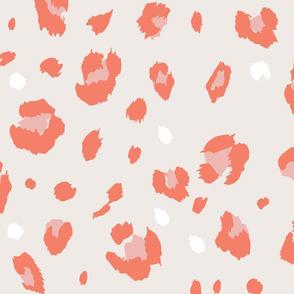 Colorful Leopard Print Pattern
