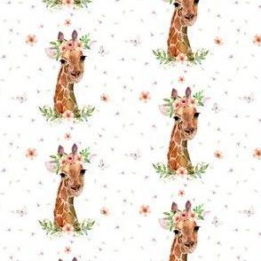 "2.5"" Floral Giraffe"