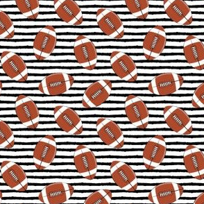 "(1"" scale) college football (black stripes)"