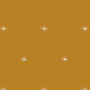 sunset - golden, mini scale