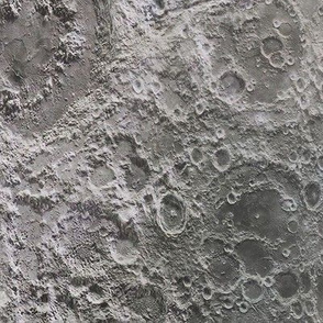 Moon Surface Lunar Craters
