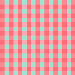 Buffalo Check | Pink & Teal