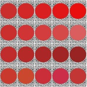 Peacoquette Designs Palette ~Tomato Variations