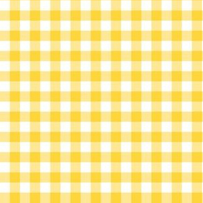 "6"" Yellow Gingham"
