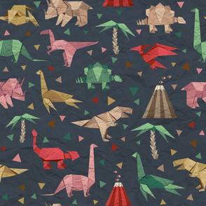 Origami dinosaurs
